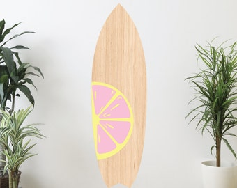 Citrus Series 2 Surfboard Wall Decal
