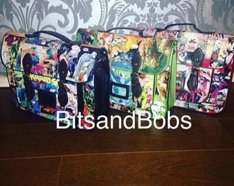 LARGE Comic Satchel Custom Bag