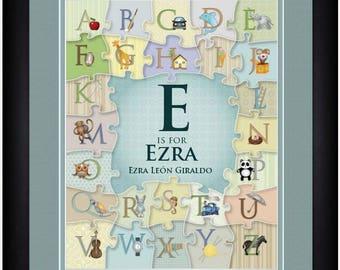 Alphabet Letter Art
