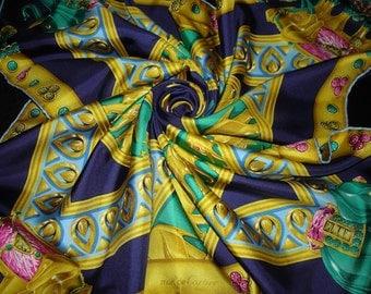 Cartier Must de CARTIER Paris scarf silk / PROMOTION! Free shipping. Cartier