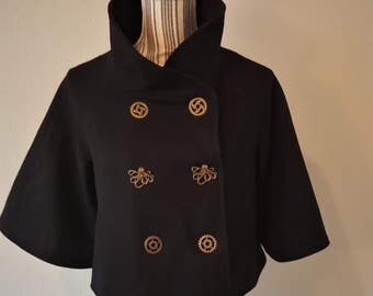 Steampunk Wool Coat