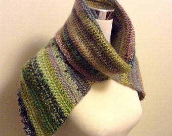 Lavendar Meadow Collar Cowl