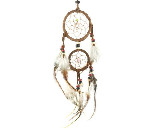Little Dream Dream Catcher, Wall Hanging, Home Decor, Web, Home Decor, Spiritual, Meditation, Boho, Bohemian, Gypsy, Feathers