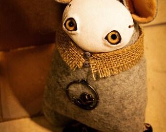 OOAK art Interior handcrafted toy