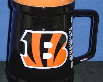 NFL Cincinnati Bengals 20oz Ceramic Mug - NEW