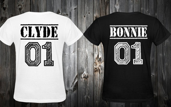 items similar to bonnie and clyde shirts bonnie clyde. Black Bedroom Furniture Sets. Home Design Ideas