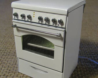rosieres cooker (1/12 miniature)