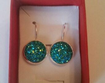 Druzy earrings