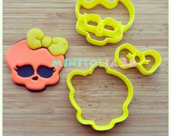 Monsterhigh Cookie Cutter Set