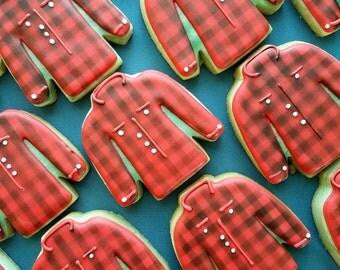 Flannel Shirt Cookies