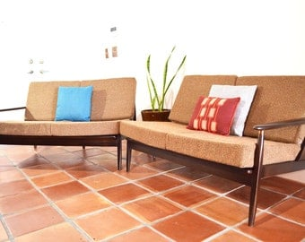 SALE Mid Century Sectional Sofa by Baumritter
