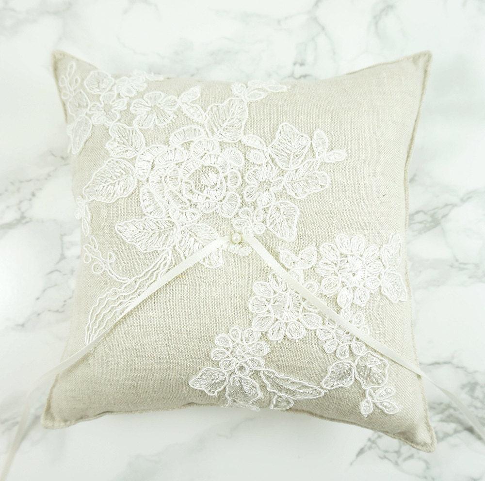 Wedding Ring Pillow Ring Bearer Pillow Ring Pillow With