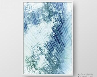 Modern Abstract Printable Art, Abstract Print, Abstract Poster, Modern Home Decor, Abstract Wall Art, Printable Poster, Abstract Blue Print