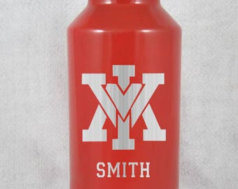 Virginia Military Institute YETI HOGG 10 12 20 30 64 oz stainless or coated personalized