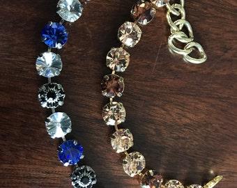 11mm Swarovski crystal bracelets