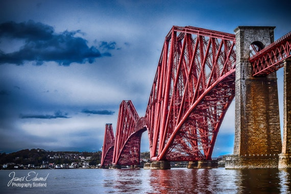 The Forth Bridge, Limited Edition, Landscape Photography, scottish print, wall art, fine art photography, river, scottish photography