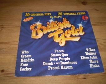 British Gold Rock Vinyl LP Album,Various Artists,Compilation,Great condition,NE 511