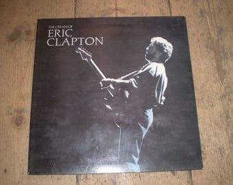The Cream of Eric Clapton Vinyl LP,Album,Record.Vinyl Superb condition,Some wear on back cover