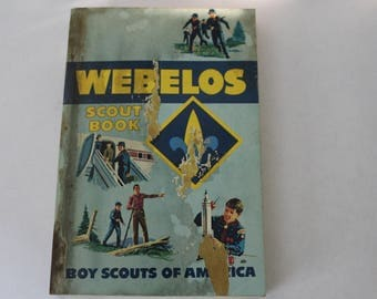 Webelos Boy Scouts of America Book, 1969