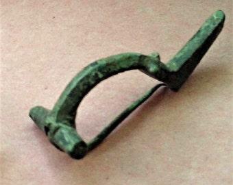 A Roman Bronze Fibulae (Brooch), 3rd Century AD, Roman Britain