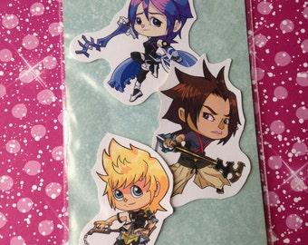 Kingdom Hearts Birth by Sleep Sticker Set