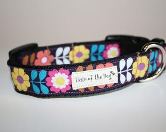 All my Flowers in a Row DoG Collar