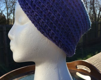 Purple and Blue Ear Warmer