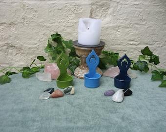 Handcrafted Ceramic Moon Goddess Mini Bowl