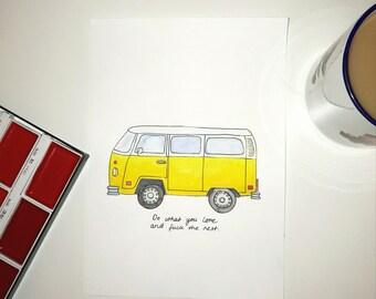 Little Miss Sunshine Print