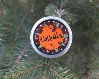 Valhalla Sweet Orange Beard Balm For The Viking At Heart
