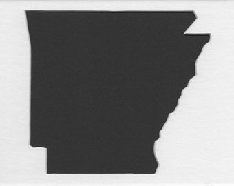 Pack of 3 Arkansas State Stencils,Made from 4 Ply Mat Board 16x20, 11x14 and 8x10