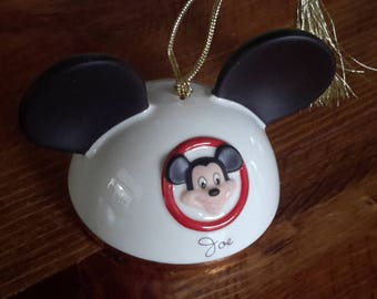 Disney Mickey Mouse Hat Ornament by Lenox