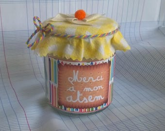 """Customizable """"Thank you to my home"""" candle and gift bag"""