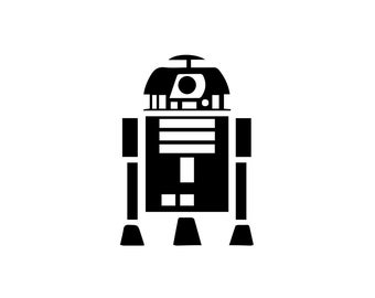 R2D2 Decal - Star Wars Decal / Vinyl Decal / Wall Decal / Nerd Gifts / Prints