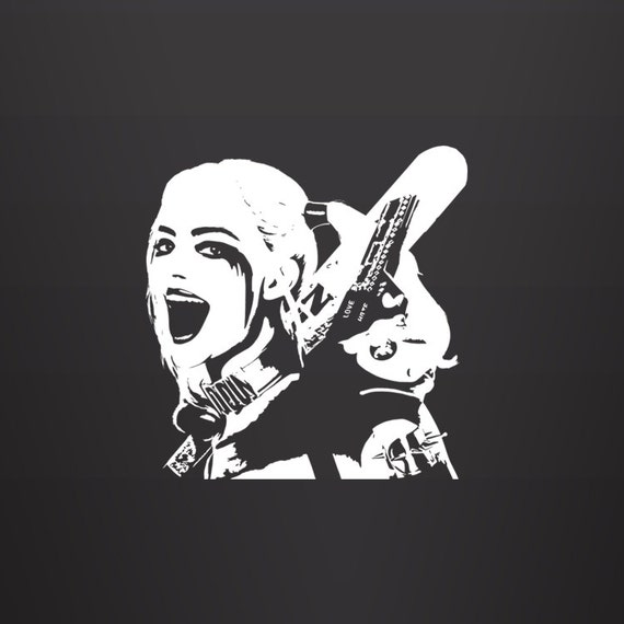 Harley Quinn Decal Suicide Squad