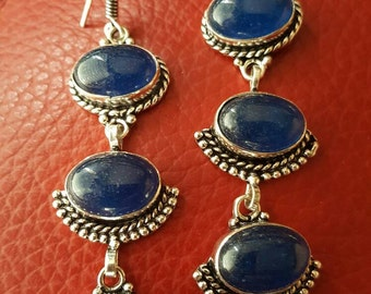 Blue Onyx Earrings!