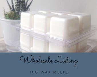 Wholesale Wax Melts ~ 100 Wax Tarts ~ Bulk Candle Melt ~ Wax Melt Bundle ~ Bulk Wax Melts ~ Personalized Shower Favors ~ Custom Party Favors