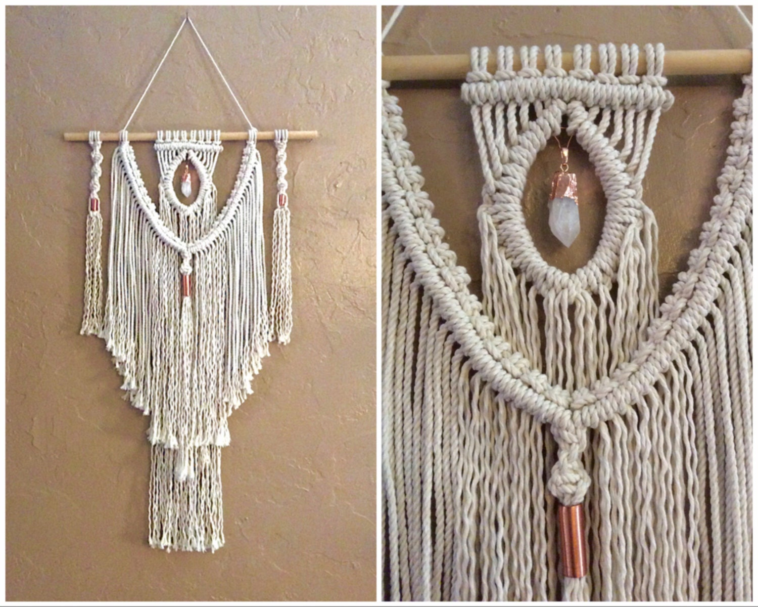 boho decor bohemian decor hippie decor hippie art macrame wall. Black Bedroom Furniture Sets. Home Design Ideas