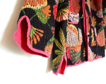 Afghan reversible jacket
