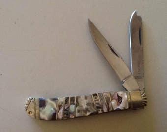Abalone Knife Etsy