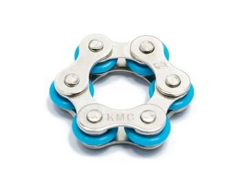Rollie Pollie 6 Link Round Chain Fidget toy