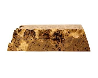 Michael Elkan Burl Wood Box