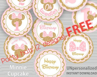 Jump Cupcake Toppers Bounce House Cake Toppers Decorations