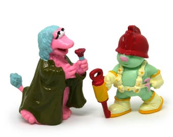 Fraggle Rock PVC figures