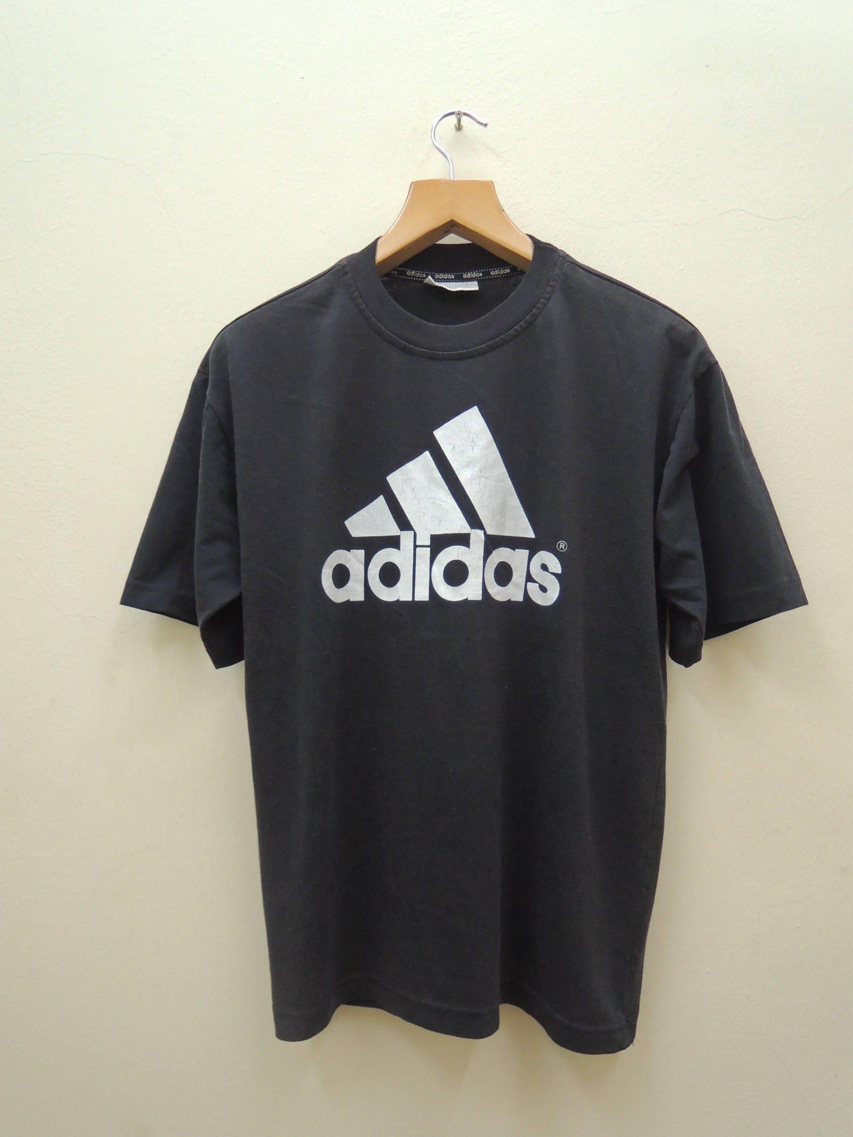 vintage adidas logo t shirt