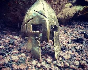 bronze spartan ring