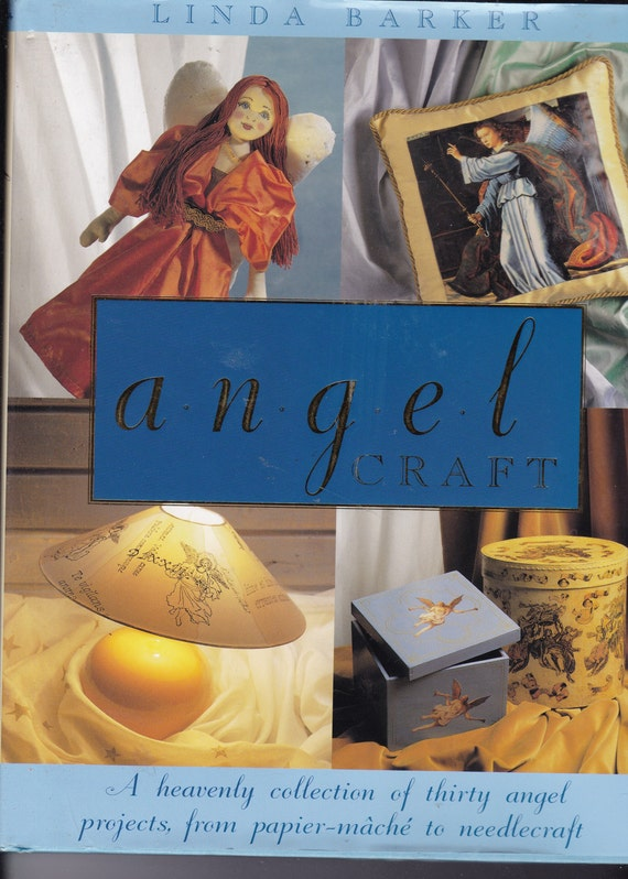 Paper Mache Book Cover : Angel craft projects from paper mache to