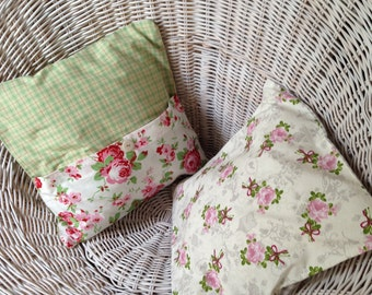 Romantic Cushion cover 35 x 35 cm in a country house style