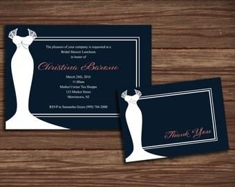 Bridal Bliss Bridal Shower: Print at Home Invitations