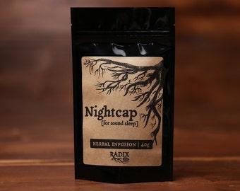 Herbal Tea - Sleep, Relaxation, Calming, Insomnia - Passionflower, Chamomile, Wood Betony, Oatstraw, Lemon Balm, Hawthorn - Herbal Infusion